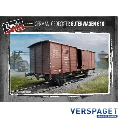 German Gedeckter Güterwagen G10 -35901