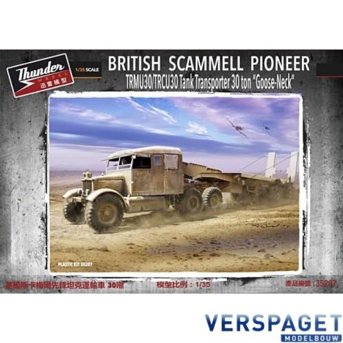 British Scammell Pioneer TRMU30/TRCU30 Tank Transporter 30 ton Goose Neck -35207