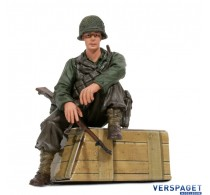 U.S. Private 1st Class Infantry Sitting -222285125