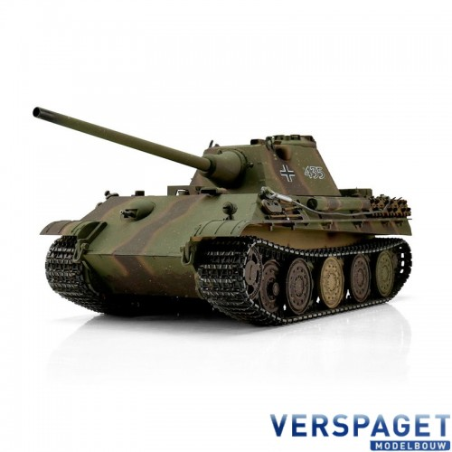 RC Pro-Edition Panther F Tank metal edition geleverd in luxe houten krat -1213879501