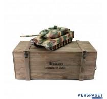 RC Pro-Edition Leopard 2A6 BB metal edition geleverd in luxe houten krat -1113889000