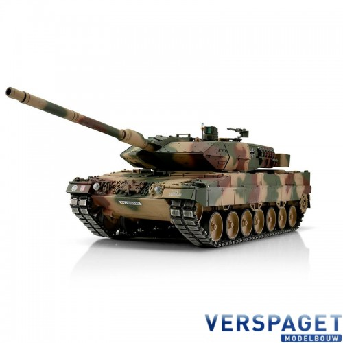 RC Pro-Edition Leopard 2A6 BB metal edition geleverd in luxe houten krat -1113889000