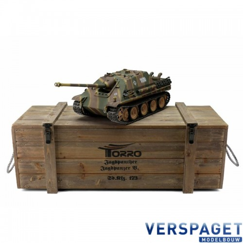 RC Pro-Edition JagdPanther metal edition BB geleverd in luxe houten krat -1213869800