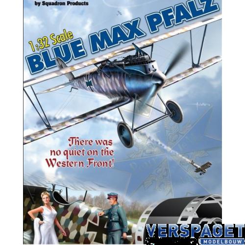 Blue Max Pfalz & Section of WWI Aerodrome Display Base -32001 / 32004