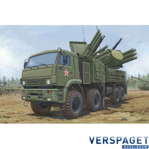Russian 72V6E4 Combat Vehicle of 96K6 Pantsir -S1 ADMGS -01060