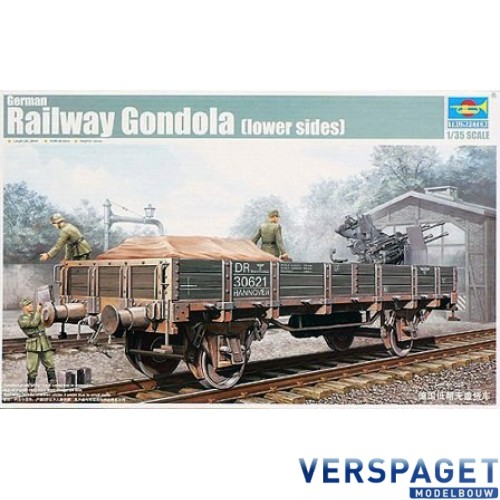 German Railway Gondola -01518