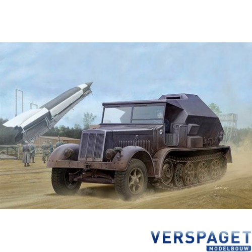 Sd.Kfz. 7/3 Half-Track Artillery Tractor Feuerleitpanzer -09537