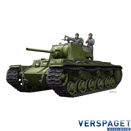 KV-1 1942 Simplified Turret Tank w/Tank Crew -9597
