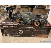 Second Hand HPI RS4 Sport 3 RTR - Ford Mustang 1965 Hoonicorn -115990