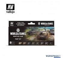World Of Tanks Miniatures Game Paint Set -70245