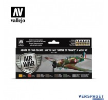 """Air Paint Set - 1939 to 1942 """"Battle of France"""" & Vichy AF"""