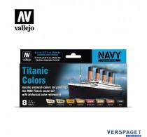 Air Paint Set - Titanic Colors - 71.646