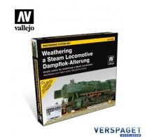 Train Color Steam Engine Weathering Paint Set 73.099