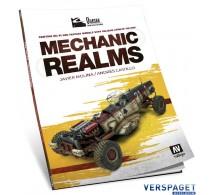 Mechanic Realms - Painting & Sci-Fi Models w/Acrylics Quasar Book Series -75018