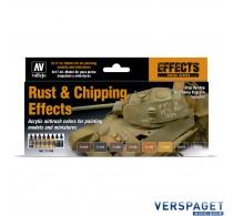 Model Air Rust & Chipping Effects 8 kleuren  -71186