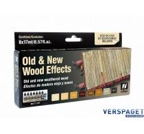 Air Color Set Old & New Wood Effects (8 potjes) -71187