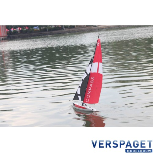 COMPASS SAIL YACHT RTR BOAT -V791-1