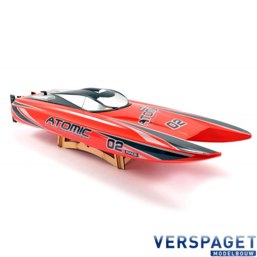 ATOMIC 70CM BRUSHLESS RACING BOAT -V792-4R