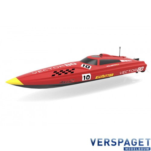 VECTOR 80 CM BRUSHLESS BOAT -V792-IR-BL