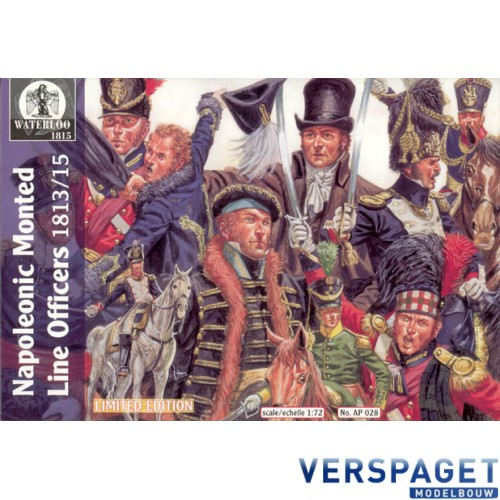 Napoleonic Mounted Line Officers -AP028