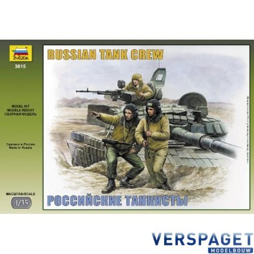 RUSSIAN MODERN TANK CREW -3615