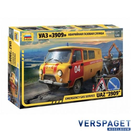 Emergency Gas Service UAZ 3909 -43003