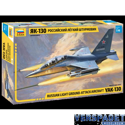 Russian Light Ground-Attack Aircraft YAK-130 -4821