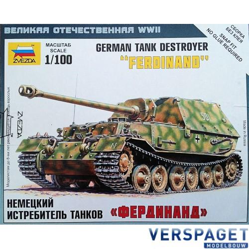 """German tank destroyer """"Ferdinand"""" -6195"""