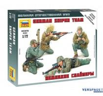 German Sniper Team -6217