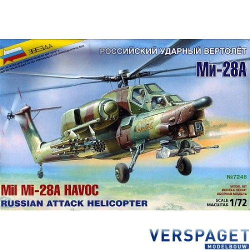 Mil Mi-28A Havoc  Russian Attack Helicopter -7246
