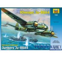 German WW 2 Naval-Bomber Junkers JU-88A4   -7282