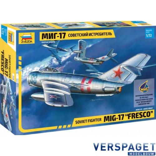 Soviet fighter Mig-17 Fresco -7318