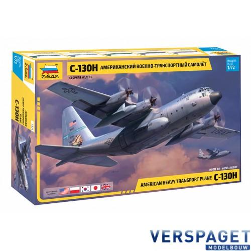 American heavy transport plane C-130H -7321