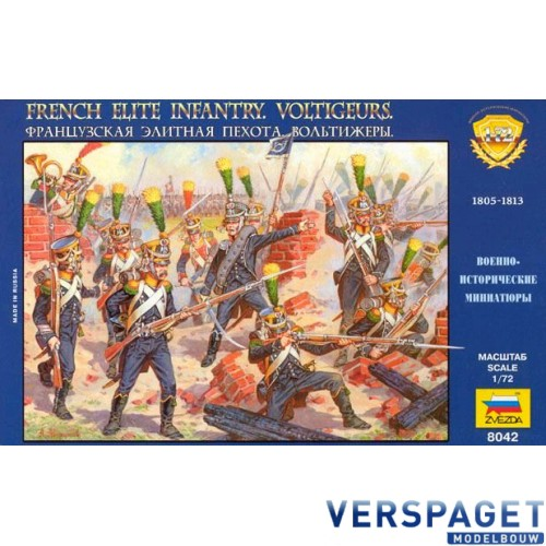French Voltigeurs Elite Infantry 1805-1813 -8042