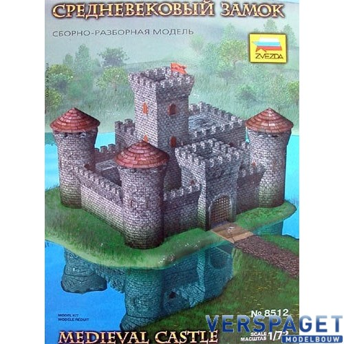 Medieval Stone Castle -8512