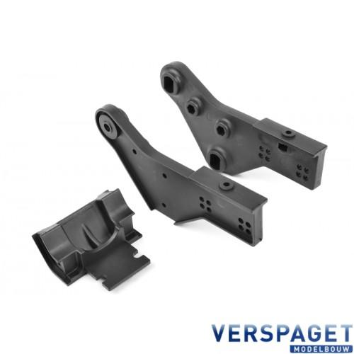 Wheelie Bar Mount - Left-Right - Composite - 1 set -C-00180-296