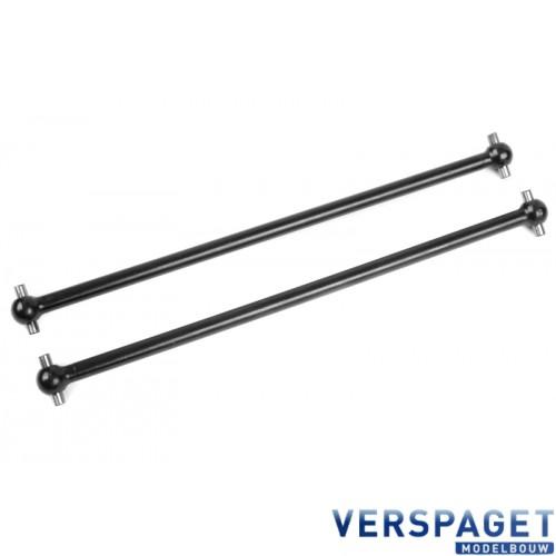 Dogbones - Long - Rear - Steel - 2 pcs -C-00180-367