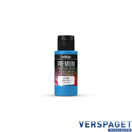 PREMIUM COLOR BLUE FLUO 60ML -VAL-62038