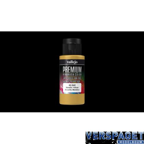 PREMIUM COLOR MET.YELLOW60ML -VAL-62042